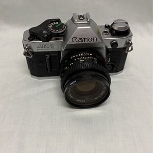 Canon Film Camera Ae-1 Program 50mm Lens for Sale in Las Vegas, NV