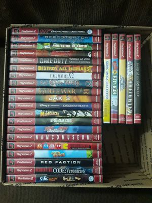 Playstation 2 PS2 Games (Prices Posted Below) for Sale in Irving, TX