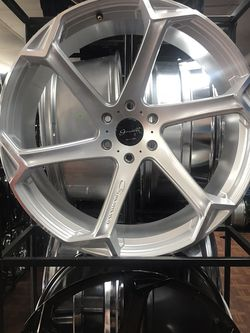 Giovanna 24 Silver 6 Lug Chevy for Sale in Dallas,  TX