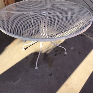 WROUGH IRON PATIO TABLE for Sale in Phoenix, AZ