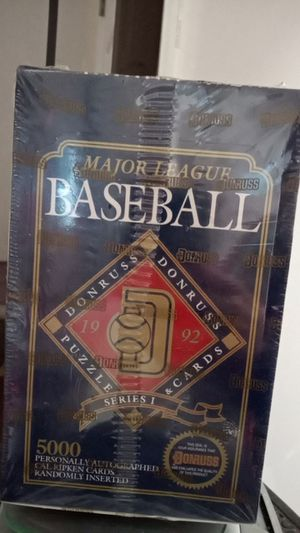1992 Donruss Major league baseball cards - unopened box for Sale in Fall City, WA