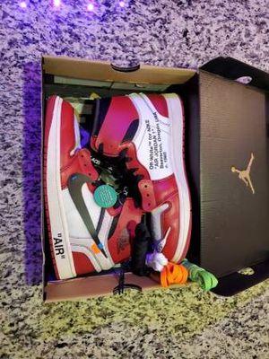Jordan 1 retro red high off white for Sale in Murfreesboro, TN