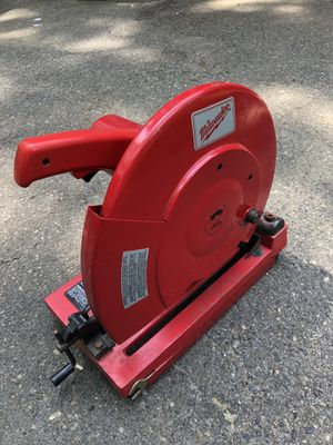 Milwaukee Metal Chop Saw for Sale in Andover, MA