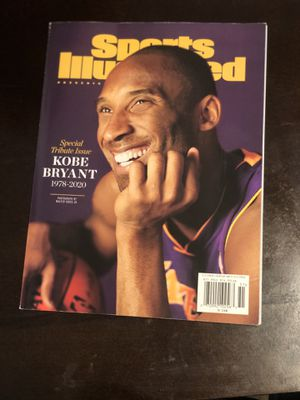 New Sports illustrated Kobe Bryant Magazine for Sale in Cerritos, CA