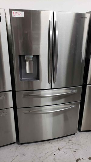 Samsung Fridge 4 Door Refrigerator Same day or next day delivery available for Sale in Stanton, CA