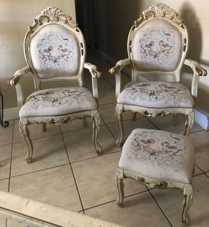 Vintage chair set for Sale in South Miami, FL
