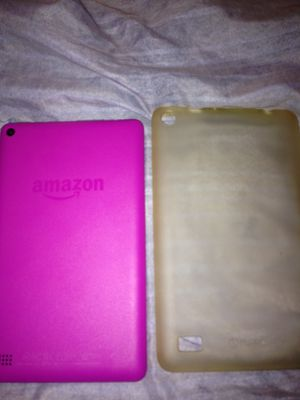 Amazon fire tablets with case for Sale in Oakland, CA