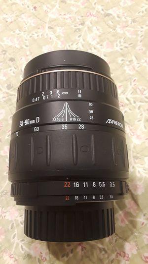 Quantaray for Nikon 28-90mm made in japan for Sale in Santa Ana, CA