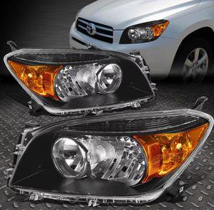 06 ~ 08 Toyota RAV4 Black Housing headlights 💡💡 for Sale for sale  Whittier, CA