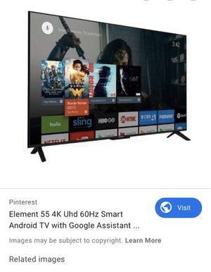 """Element smart tv 55"""" for Sale in Grand Rapids, MI"""
