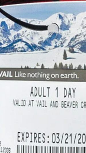lift tickets Employees Vouchers for Sale in Blue River, CO