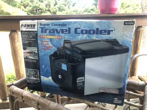 New Travel Cooler & Warmer Super Console in box *Holds 20cans !! for Sale in Campobello, SC