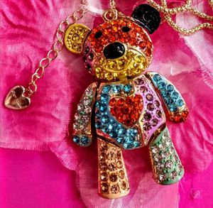 Betsey Johnson Crystal Necklace for Sale in Wichita, KS
