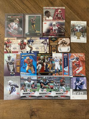 NFL trading card Wide Receiver Lot. Owens rookie for Sale in Swarthmore, PA