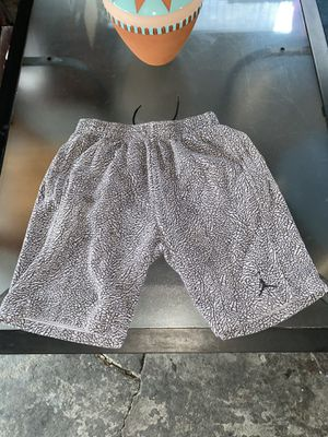Jordan 3 Elephant Print Cement Fleece Shorts for Sale in Los Angeles, CA