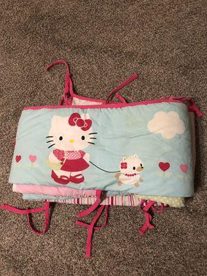 Hello Kitty Crib Bumper for Sale in Tracy, CA