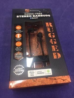 Rugged Bluetooth earbuds BNIB for Sale in West Sacramento, CA