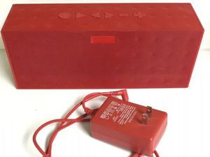JAWBONE JAWBOX RED BLUETOOTH SPEAKER WITH CHARGER for Sale in Miami, FL