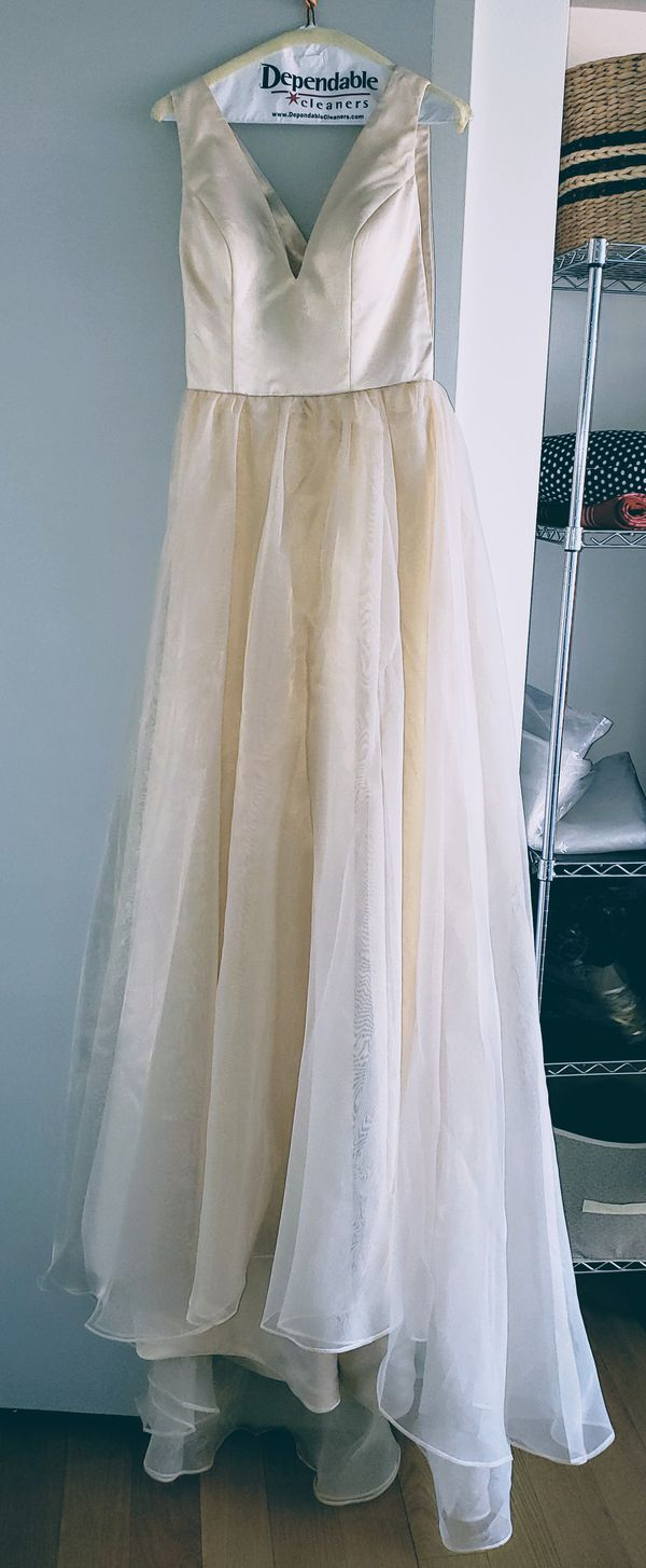 Champagne gown/dress