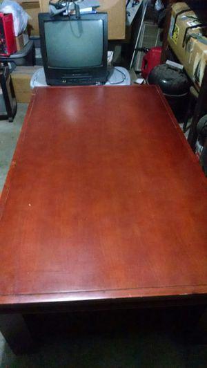 Nice cherry wood coffee table for Sale in Pekin, IL