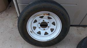 Yokahoma 215 65 R16 and Trailer 6 Lug Wheel for Sale in Glendale, AZ