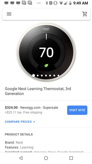 Nest thermostat .. new!! for Sale in Thousand Oaks, CA