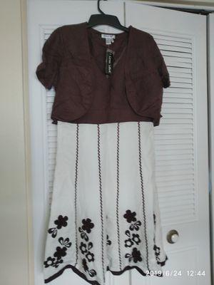 Lino USA Jacket dress size L for Sale in Pompano Beach, FL