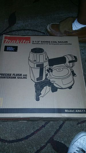 "Makita Nail Gun 2 1/2"" siding coil nailer for Sale in San Jose, CA"