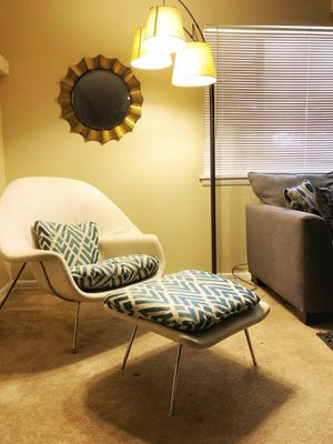 Womb Chair and Ottoman for Sale in Raleigh, NC