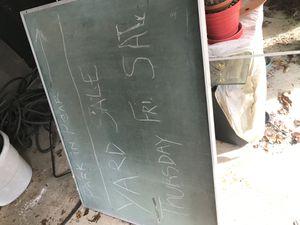 3 by 5 chalk board for Sale in Nashville, TN