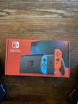 new Nintendo Switch with Neon red and blue for Sale in Los Angeles, CA
