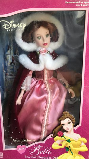 Disney porcelain Belle Or Cinderella by Avon for Sale in Saint Charles, MO