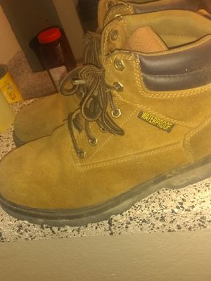 Steel toes water proof wrk boots 10 for Sale in Dallas, TX
