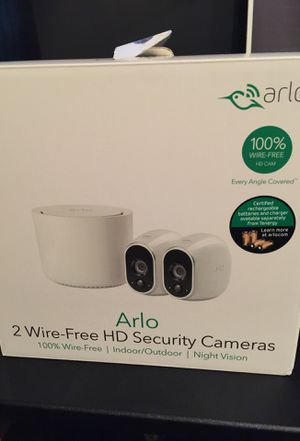 Arlo camera system (used) for Sale in Grand Prairie, TX