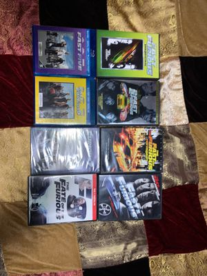 Fast and Furious Collection #1-8 for Sale in Prattsburgh, NY