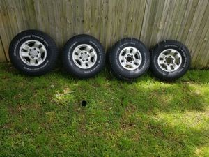 Toyota tacoma rims/tires for Sale in UPR MARLBORO, MD