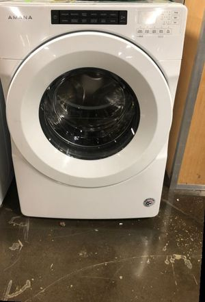 New Amana 4.3 Cu Ft Front Load Washer 6NM7D for Sale in Houston, TX