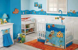 6pc Disney Baby Finding Nemo Crib Bedding Set Newborn Unisex Gift Set for Sale in Compton, CA