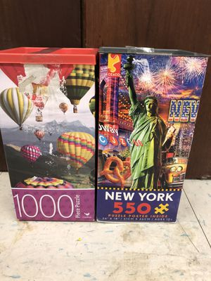 Two puzzles for Sale in San Francisco, CA