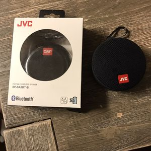2 JVC BLUETOOTH SPEAKERS for Sale in St. Louis, MO