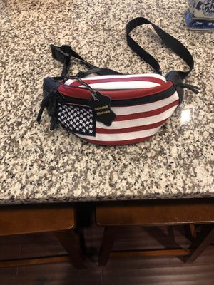 Vintage all leather american flag waist pouch for Sale in Hampton, VA