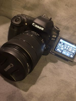 Canon EOS 80D with Extras for Sale in San Bruno, CA