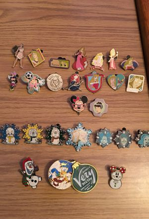 Disney pin lot! for Sale in Warren, NJ
