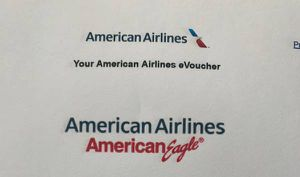 AMERICAN AIRLINE VOUCHERS ( I will purchase ticket) for Sale in Stockton, CA