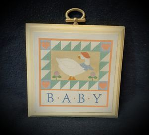 Vintage nursery hanging plaque for Sale in San Antonio, TX