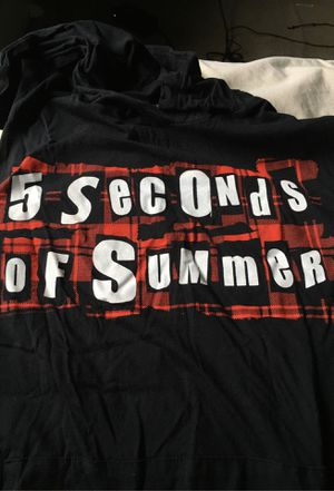 5 seconds of summer shirt for Sale in Bangor, ME