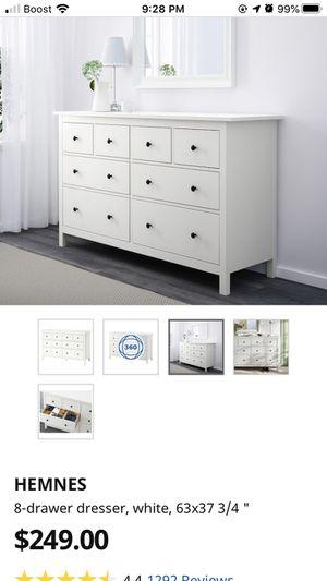 IKEA white dresser for Sale in Gaithersburg, MD