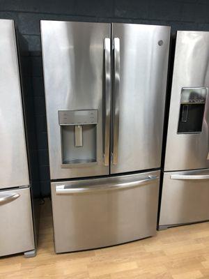 GE stainless steel French door refrigerator for Sale in Woodbridge, VA