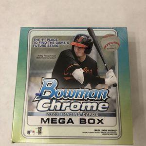 2020 Bowman Chrome Baseball MLB Sealed Mega Box Cards Walmart Exclusive for Sale in Rowland Heights, CA