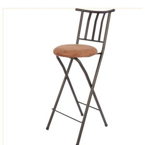 B 42 Folding 29 Inch Bar Height Stool Bronze Finish. New for Sale in Austin, TX